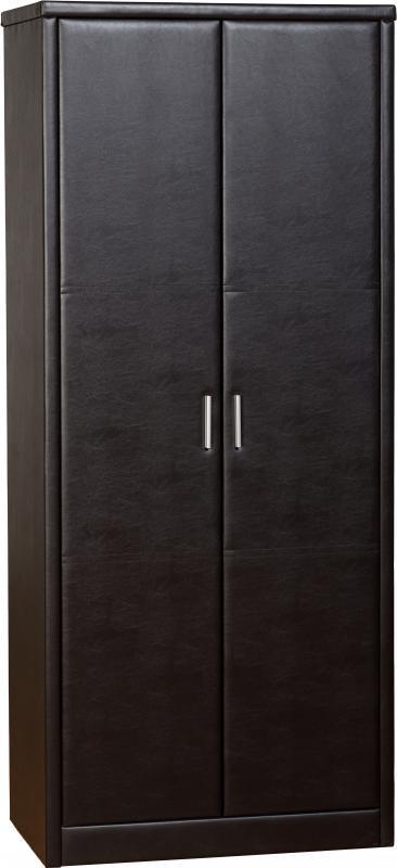 Prado 2 Door Wardrobe - Expresso