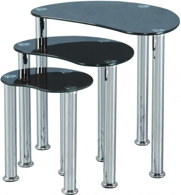 Cara Nest Of Tables - Black