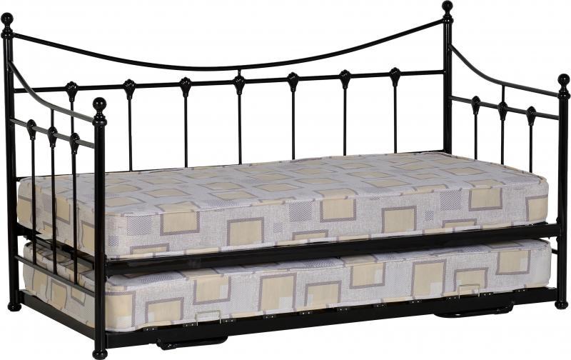 Tortino Day Bed - Black