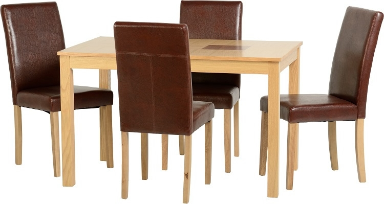 Wexford 47 G3 Dining Set - Brown