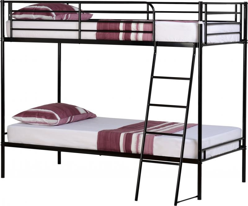 Brandon Bunk Bed - Black