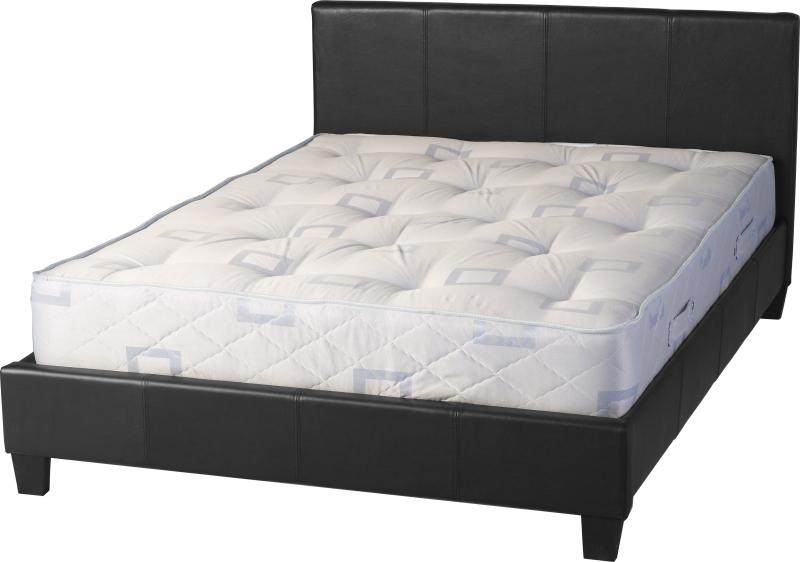 Prado Three Quarter Bed - Black