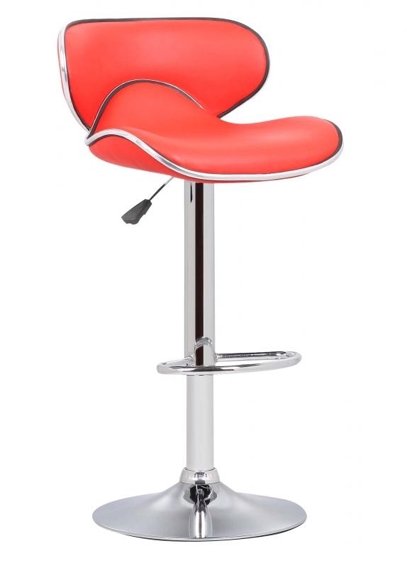 Bahama Swivel Bar Chairs - Red