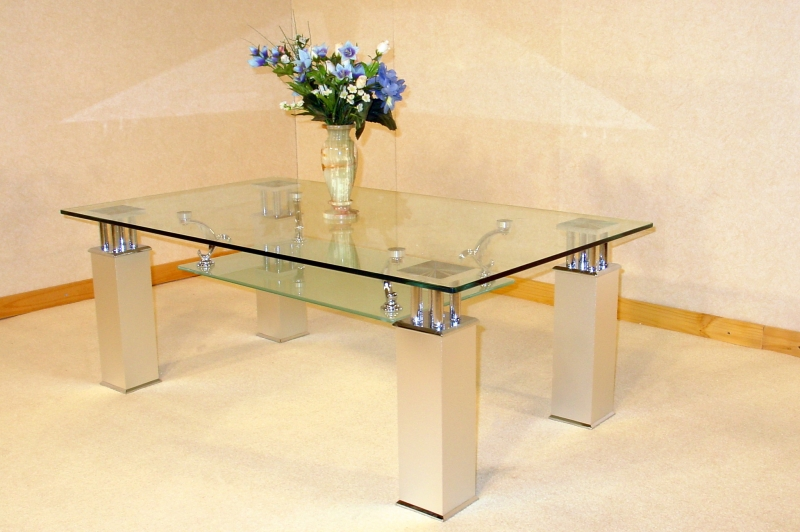 Sanfrancisco Coffee Table - Clear