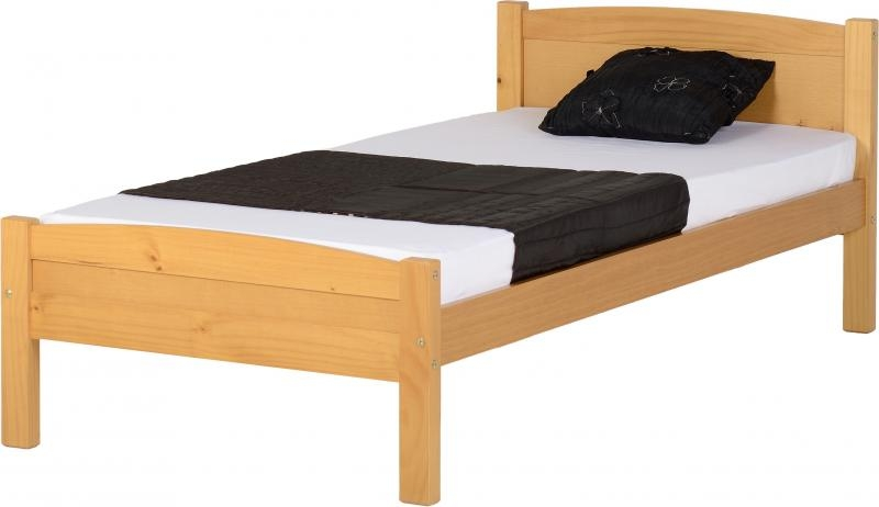 Amber Single Bed - Pine