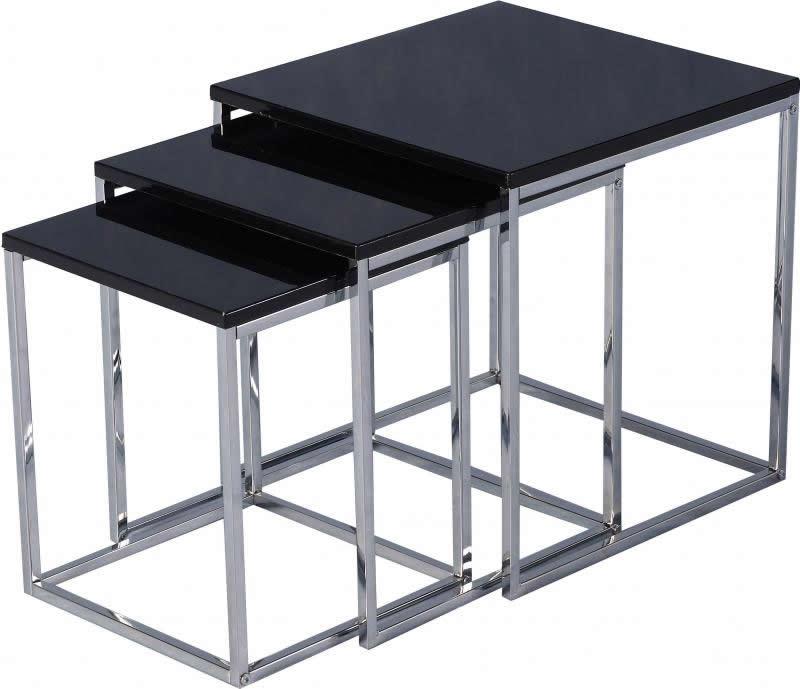 Charisma Nest Of Tables - Black
