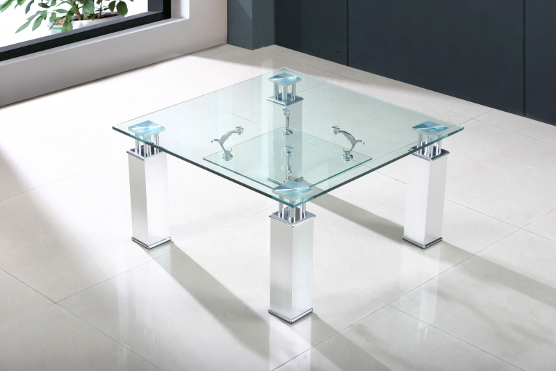 Sanfrancisco Lamp Table - Clear
