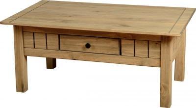Panama 1 Drawer Coffee Table