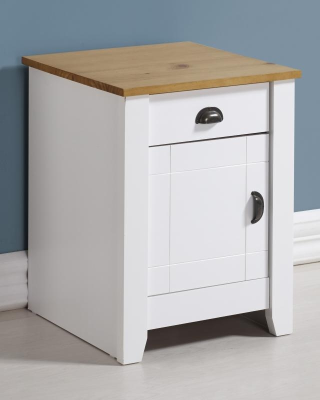 Ludlow Bedside Cabinet - White