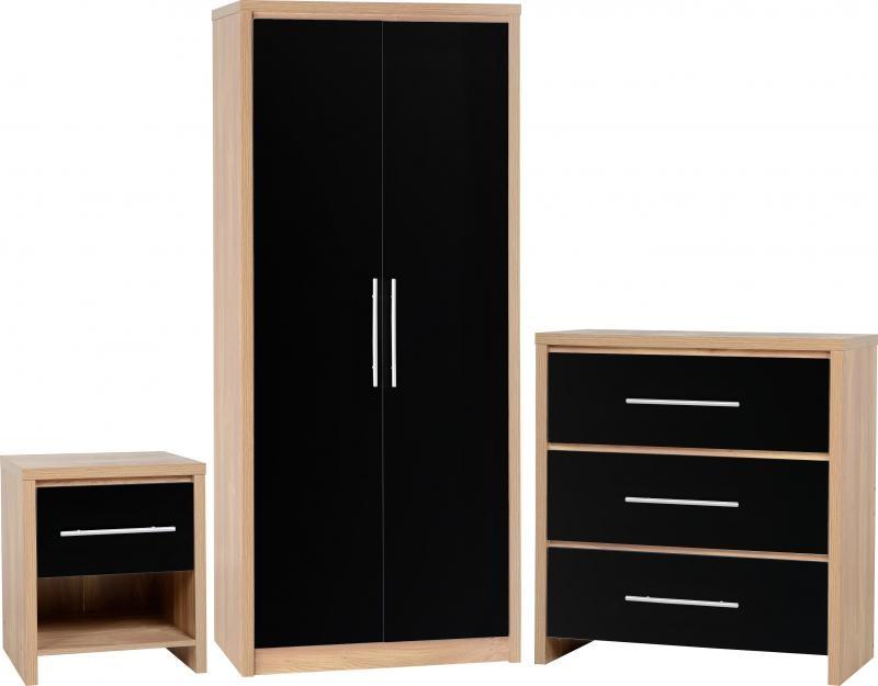 Seville Bedroom Set - Black