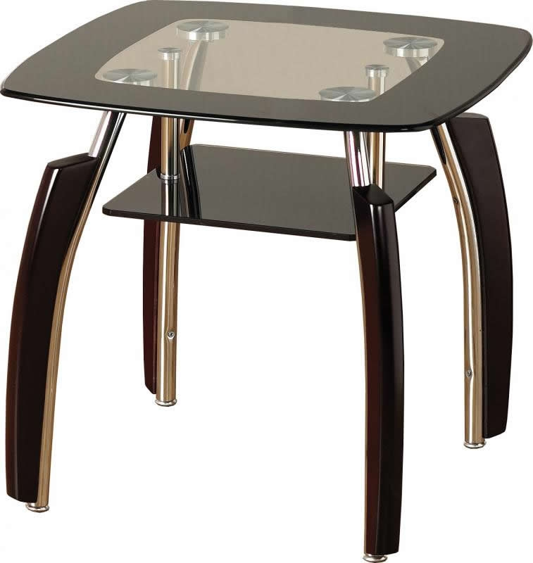 Elena Lamp Table - Black