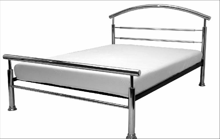 Claire Chrome Bed