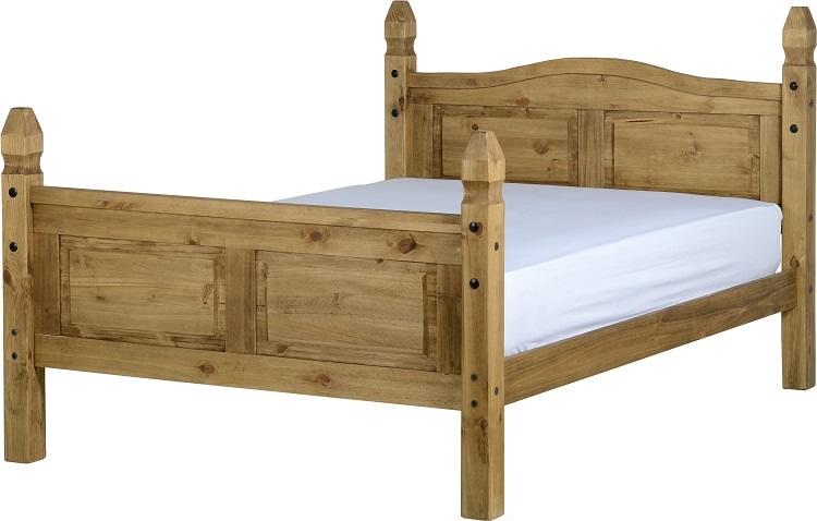 Corona Double Bed - High