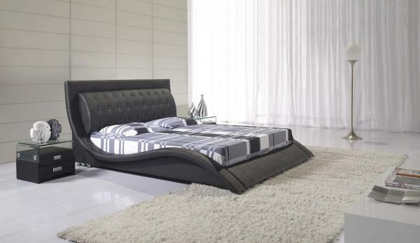 Andorra Designer Bed - Black