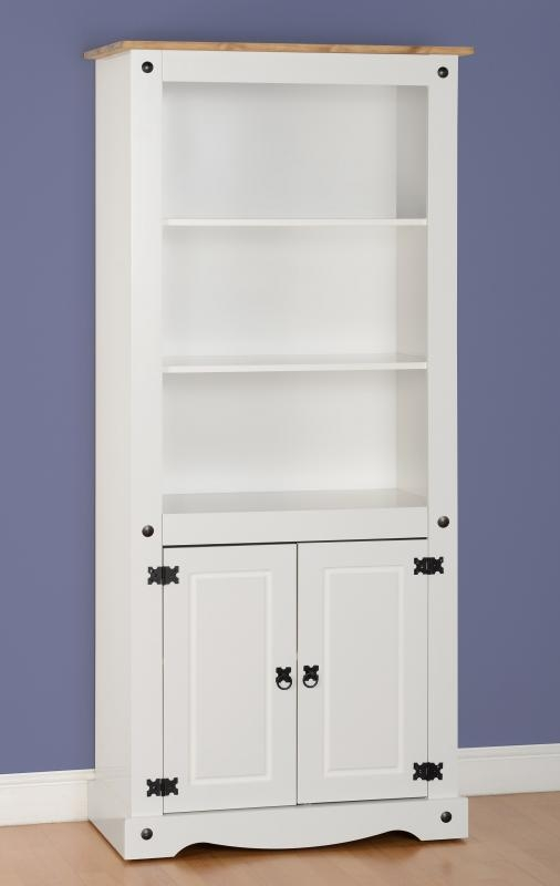 Corona 2 Door Display Unit - White