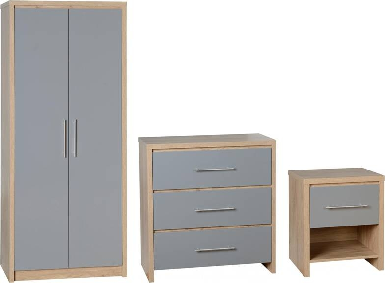 Seville Bedroom Set - Grey