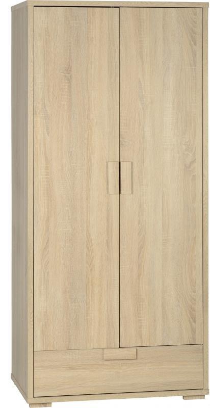 Cambourne 2 Door Wardrobe - Oak