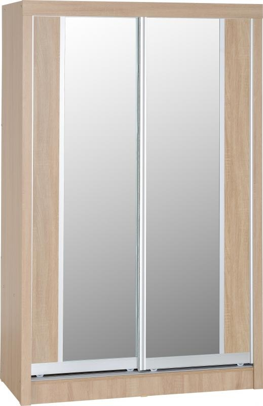 Lisbon Sliding Wardrobe - Oak