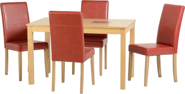 Wexford 47 G3 Dining Set - Red
