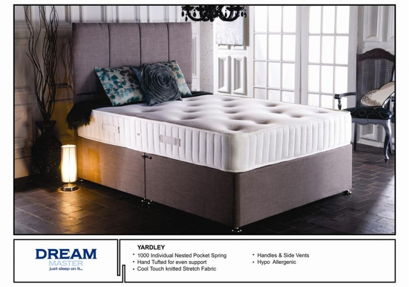 Looking For The Comfort And Support A Medium Firm Pocket  : 114873 Yardley20Divan20Bed from mattressessale.eu size 800 x 562 jpeg 254kB