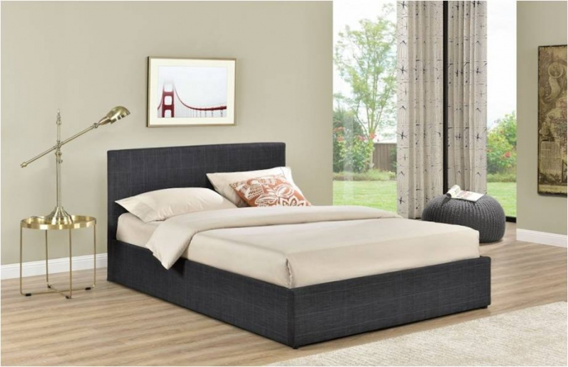 Berlin Ottoman Bed - Checked - Fabric Beds
