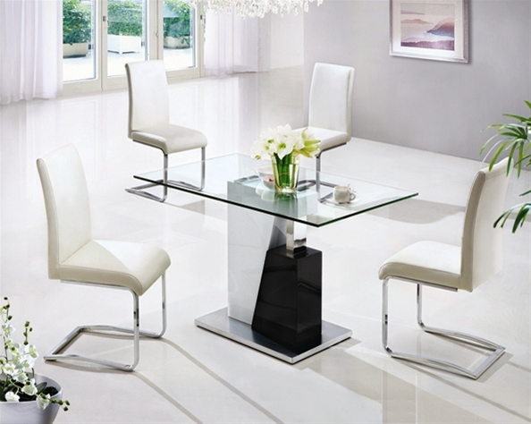 Monaco 654 Small Dining Set Glass Dining Sets