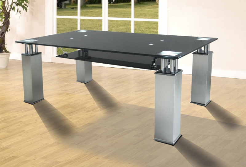 Sanfrancisco Coffee Table Black Modern Coffee Tables From Flatpack2go