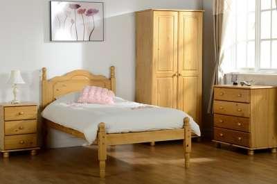 Bedside Cabinet Right Deals UK Solid Pine Bedroom Furniture Set Chest Of Drawers Sol Super Trio Wardrobe