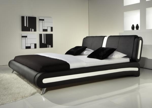 Modern Designer Beds » Verona Italian Bed   Black