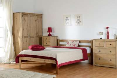 Flat Pack Bedroom Furniture Panama 3 Door Wardrobe Flatpack2go