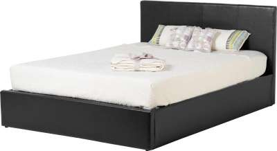 Waverley Three Quarter Storage Bed Faux Leather Beds