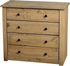 Panama 4 Drawer Chest
