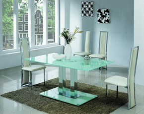 Jet 601 Dining Set - Frosted