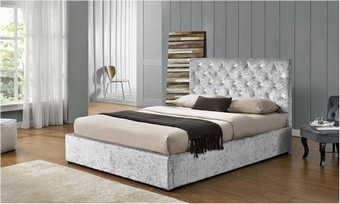 Chattsworth Storage Bed - Silver