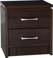 Charles Bedside Chest - Walnut