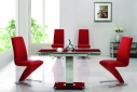 Gami 632 Ext Dining Set - Red