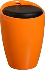 Wizard Storage Stool - Orange