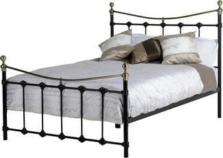 Dekota Double Bed -Black