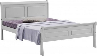 Georgia Double Bed - Grey
