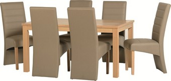 Belmont Dining Set - Taupe