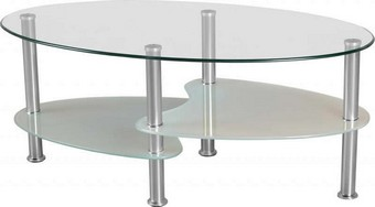 Cara Coffee Table - Clear