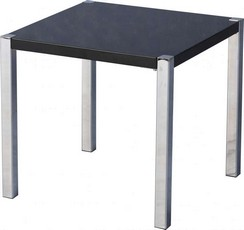 Charisma Lamp Table - Black