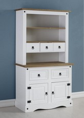 Corona Buffet Hutch - White