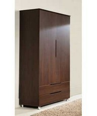 Lorenza 2 Door 2 Drawer Wardrobe Set1