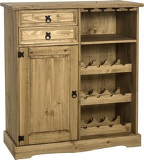Corona Sideboard - Wine Rack