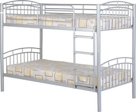Ventura Bunk Bed - Silver